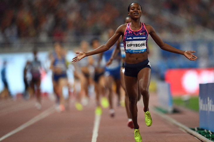 Olympic 1,500m champion Faith Kipyegon seeks to transition to 5,000m after Olympic Games