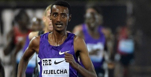 Ethiopian Yomif Kejelcha won the 5,000 easily at Payton Jordan invitational last night clocking 13:10 along with other top performances
