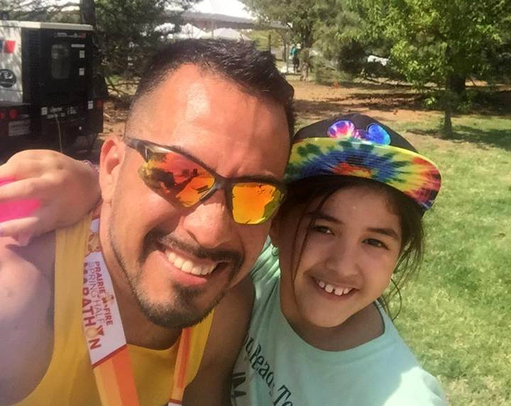 Global Run Challenge Profile: When your legs can't run anymore, run with your heart says Victor Reynoso