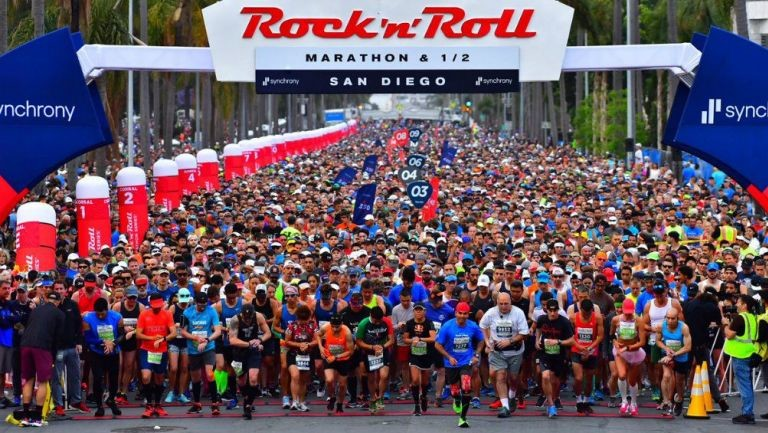 More than 13,000 Participants Worldwide have been Taking Part in Rock 'n' Roll Virtual Running Series Race