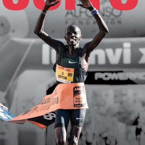 World half marathon record holder Abraham Kiptum will also be running the  London marathon