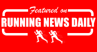 Featured on Running News Daily